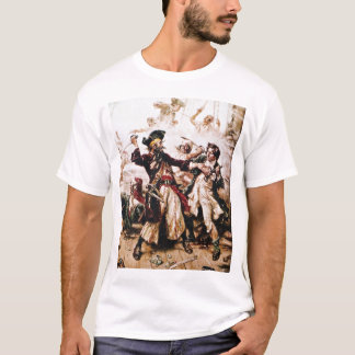 Camiseta Pirata Blackbeard capturado
