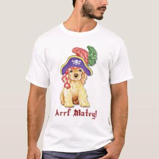 Camiseta Pirata de cocker spaniel