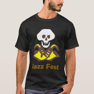 Camiseta Pirata do saxofone, Fest do jazz
