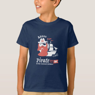 Camiseta Pirata no t-shirt de Saskatchewan do rio