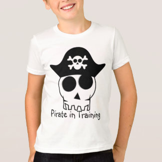 Camiseta Pirata no treinamento
