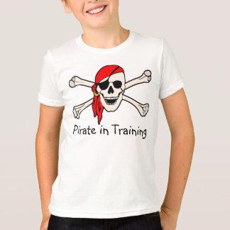 Camiseta Pirata no treinamento