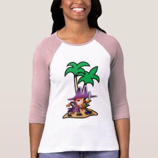 Camiseta Pirata resoluto da menina