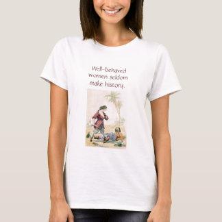 Camiseta Piratas das mulheres na história