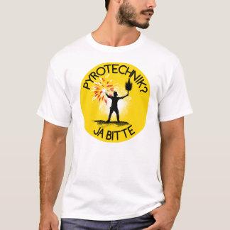 Camiseta Pirotecnia? Sim pede!