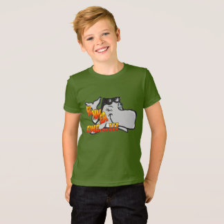 Camiseta Pisc a baleia caçoa o t-shirt do roupa