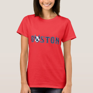Camiseta Pisc Boston Terrier - Boston