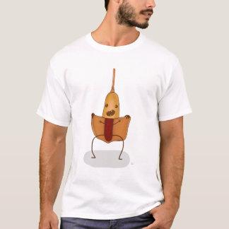 Camiseta Pisca-pisca de Corndog