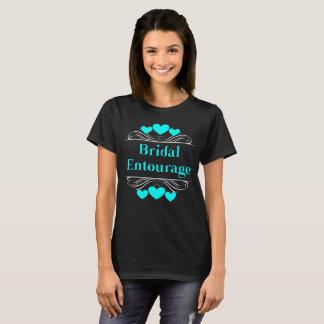 Camiseta Piscina nupcial de Tee~Turquoise do coração do