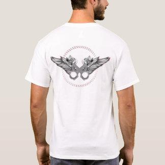 Camiseta Pistões cruzados