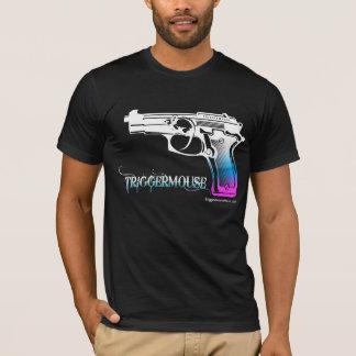Camiseta Pistola de TriggerMouse invertida