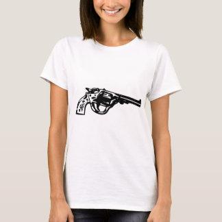Camiseta Pistola do revólver