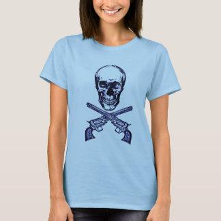 Camiseta pistolas do crânio n