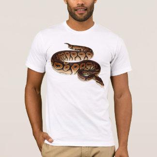 Camiseta Pitão da bola da canela