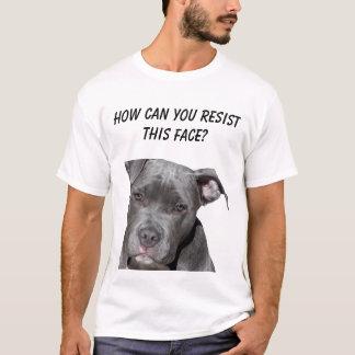 Camiseta Pitbull preto editável