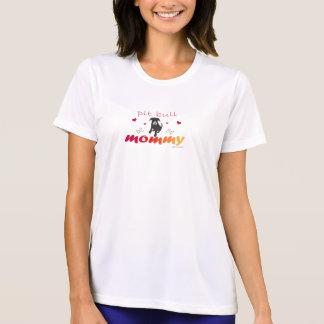 Camiseta PitBullBlkWtFcMommy