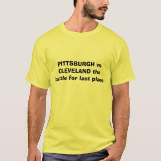 Camiseta PITTSBURGH contra CLEVELAND a batalha para o