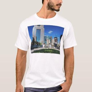 Camiseta Pittsburgh do centro