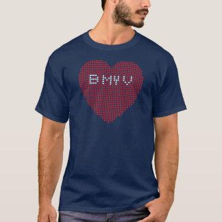 Camiseta Pixel B dos namorados MEU V