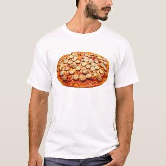 Camiseta Pizza com o t-shirt dos Pepperoni e dos homens da