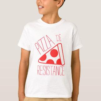 Camiseta Pizza de Resistência