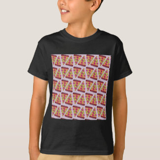 Camiseta pizza floral