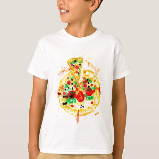 Camiseta Pizza saboroso