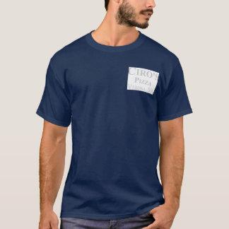 Camiseta Pizza & sub do estilo da New York de Ciro