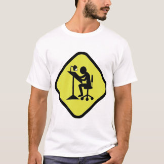 Camiseta Placa de Advertência Ilustra
