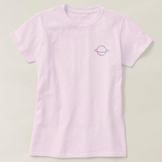 Camiseta planeta.