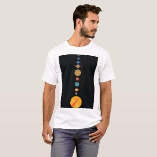 Camiseta Planetas alinhados