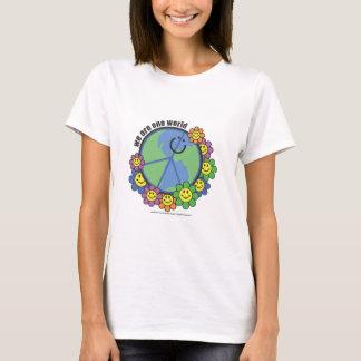 Camiseta Planetpals-nós somos uma terra do amor da paz de