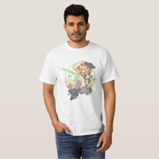 Camiseta Planície de Troublesmaker (pouco Armalite)