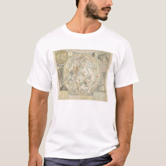 Camiseta Planisphaerii Coelestis Hemisphaerium
