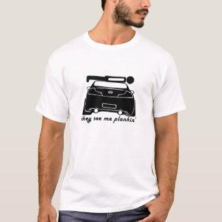 Camiseta Plankin em um cupé G35