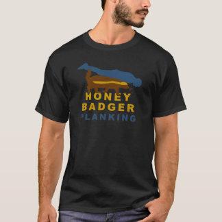 Camiseta planking do texugo de mel