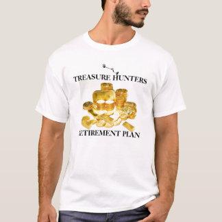 Camiseta Plano de aposentação dos caçadores de Treasur