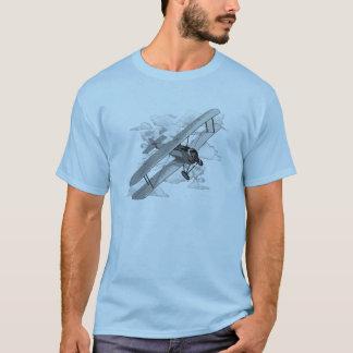 Camiseta Plano do vintage