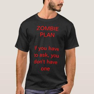 Camiseta Plano do zombi