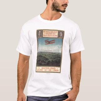 Camiseta Plano dos irmãos de Wright