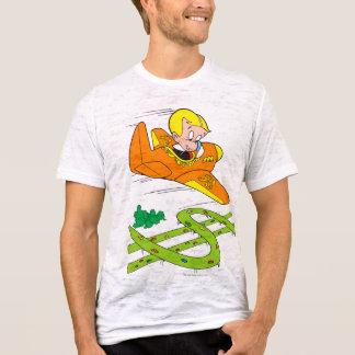 Camiseta Plano rico do vôo de Richie - cor