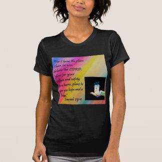 Camiseta Planos para a esperança e um futuro