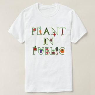 Camiseta Planta no público