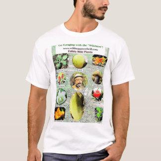 Camiseta Plantas comestíveis selvagens pelo parracho de