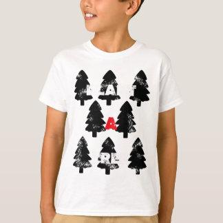 Camiseta Plante o teste padrão da árvore de A