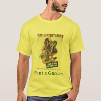 Camiseta Plante um jardim