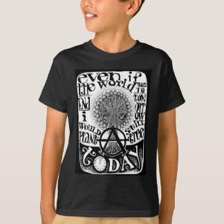 Camiseta Plante um t-shirt da árvore hoje