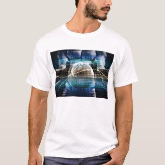 Camiseta Plataforma da segurança do controlo de acessos