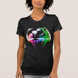 Camiseta Plataforma giratória de derretimento (olhar