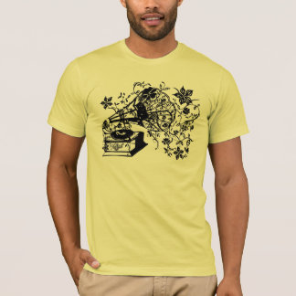 Camiseta Plataforma giratória de Oldschool